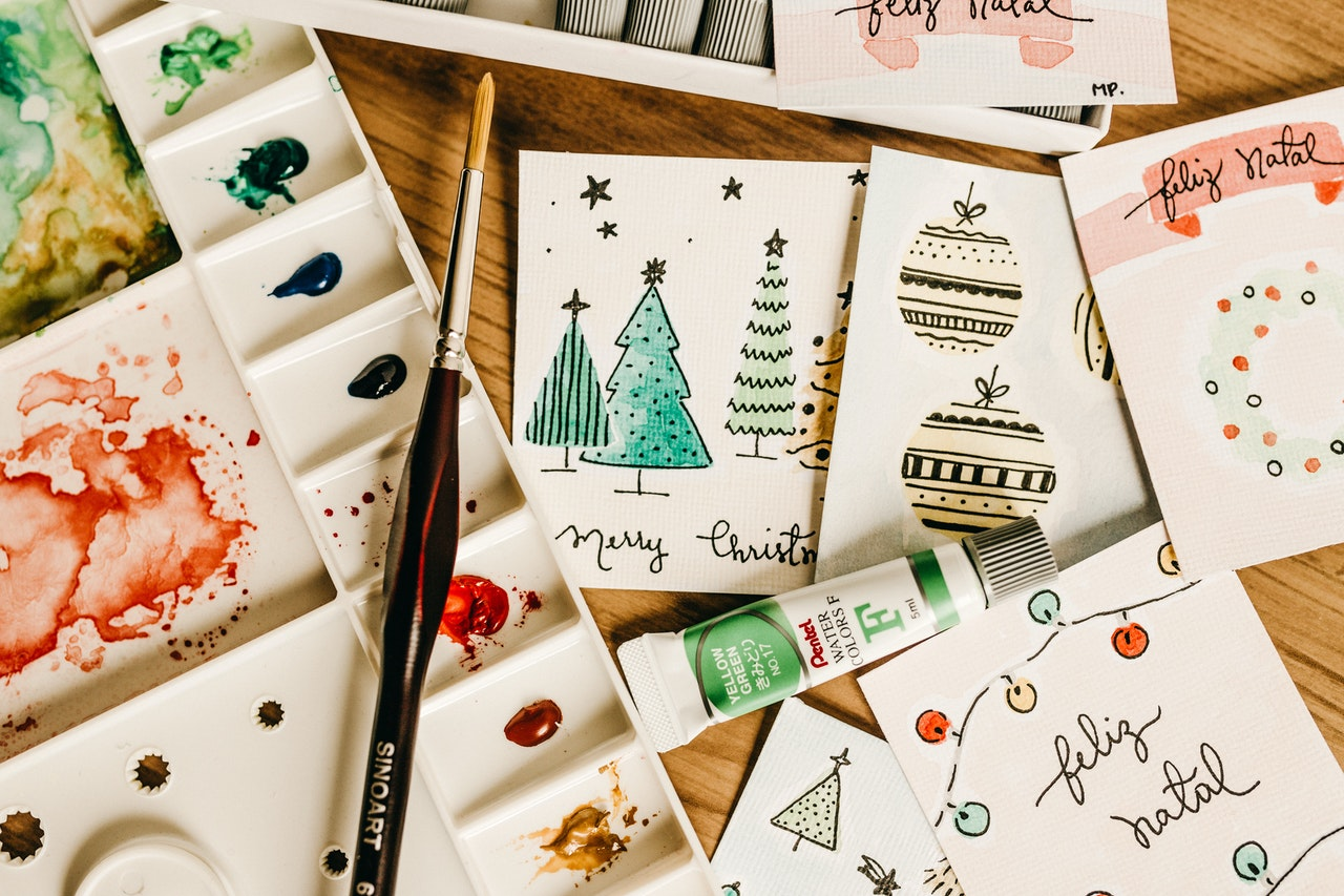 How to make personalized christmas cards